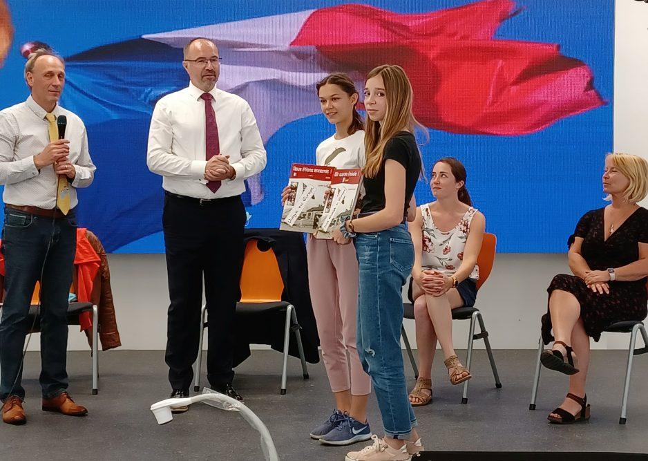 Besuch aus Frankreich am Diesterweg-Gymnasium