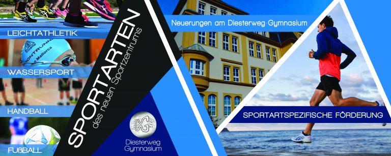 Wir fördern sportliche Talente intensiv – Sportzentrum am DG.