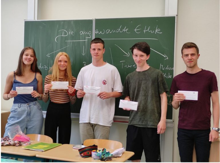 Fast 50 potenzielle Stammzellspender am Diesterweg-Gymnasium in diesem Jahr!